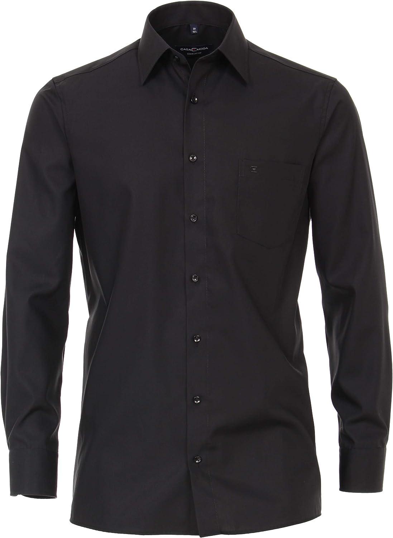 CASAMODA Herren Business-Hemd unifarben extra Langer Arm 69cm 006059 Comfort Fit