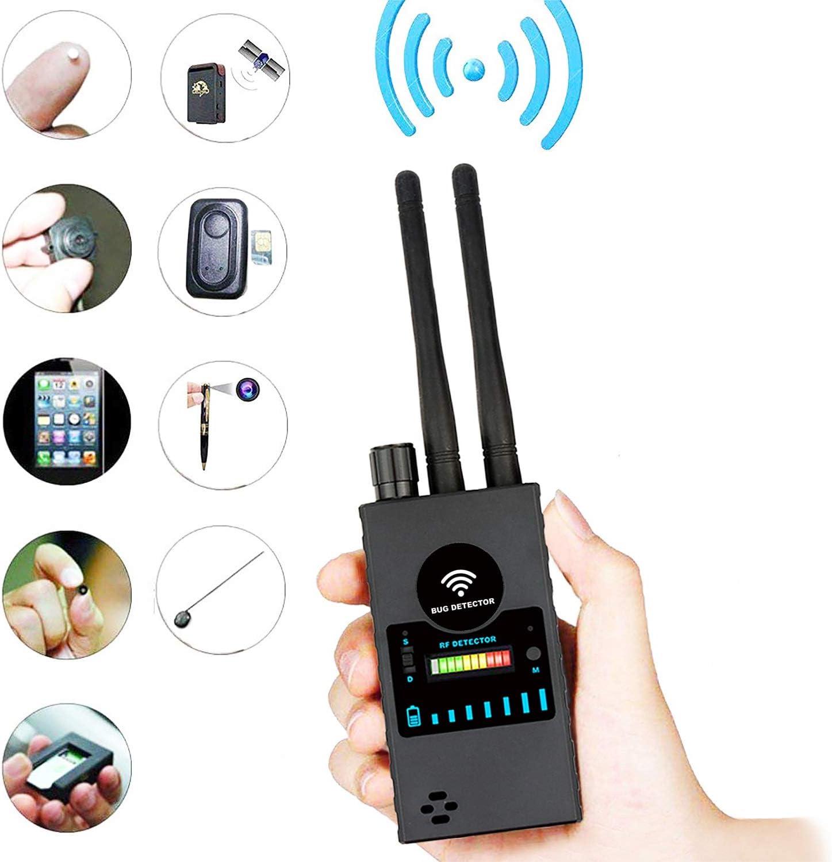 Detector de Señal Anti Espía Detector de señal GPS Detector de Señal Espía Detector de Cámara Inalámbrica Detector de RF Buscador de Dispositivos gsm