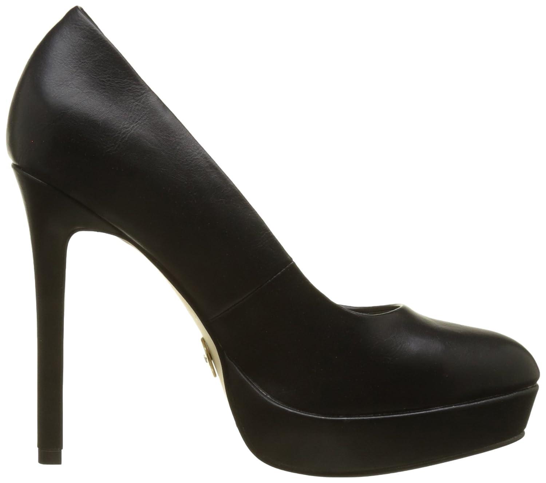 C228a-1 New P1735a PU, Zapatos con Plataforma para Mujer, Negro (Black 01), 39 EU Buffalo