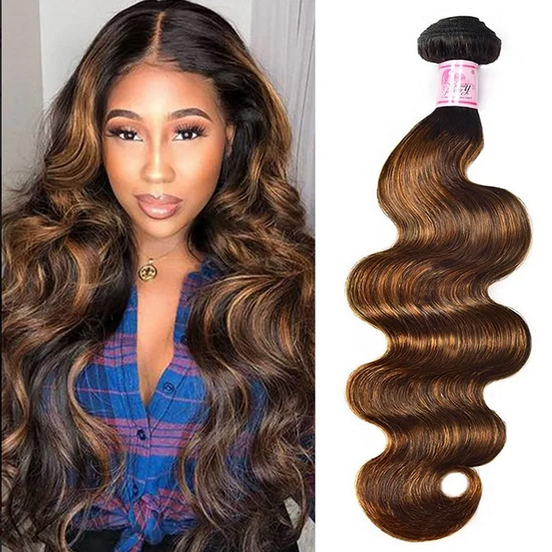 Beauty Forever #FB30 Color Brazilian 24Inc Wave Body Hair Weave Phoenix Max 82% OFF Mall