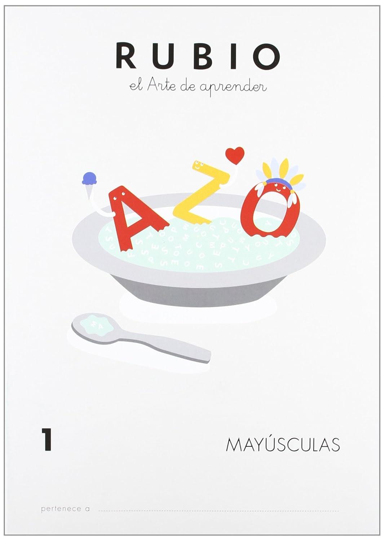 Rubio MY1 - Cuaderno mayúsculas Vv.Aa. YQ Spanish 1000000