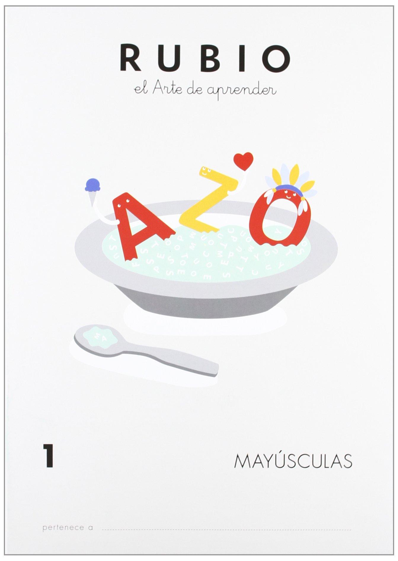 Rubio MAY - Cuaderno mayúsculas