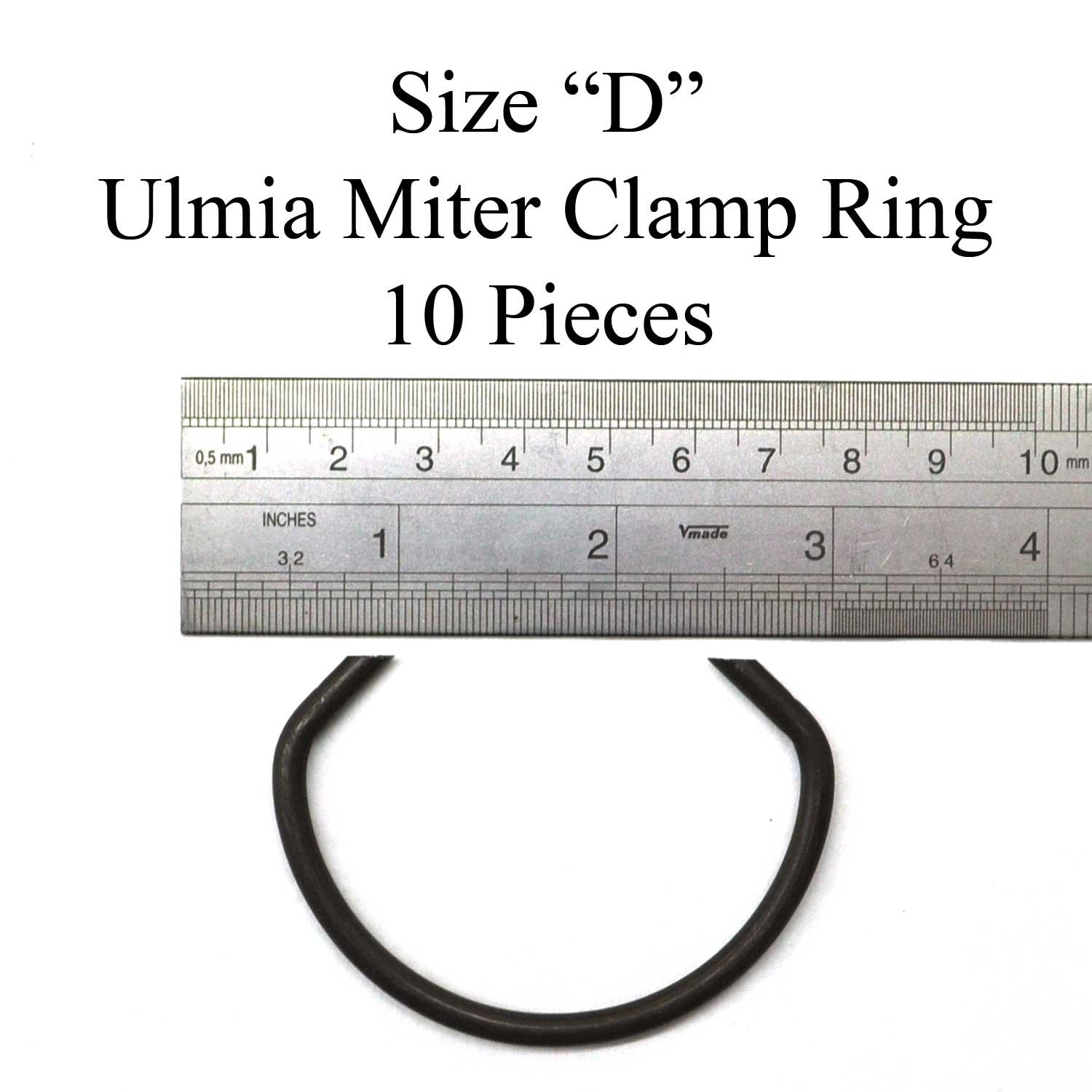 Ulmia ''D'' Size Miter Clamp Ring 10 Pack