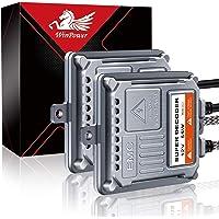 جهاز فك شفرة كانباس AC 55عالمي من وين باور اتش اي دي، عبوة فيها قطعتين لـ for H1 H3 H4 H7 H8 H9 H11 H13 9005(HB3) 9006…