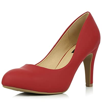 DailyShoes Women's Memory Foam Cushion High Heel Stiletto Pumps Shoes | Pumps