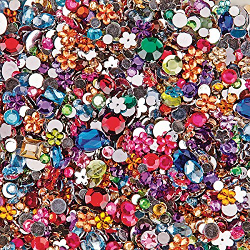 d Acrylic Gemstones, 1/2 lb. (bag of 2000) ()
