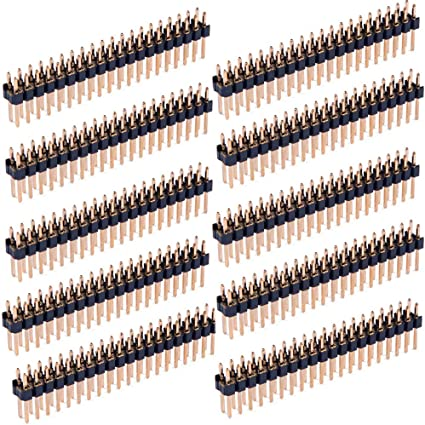 3 Stück 2X20 Doule Row Pin Female Header Buchsenleiste Strip für Raspberry Pi