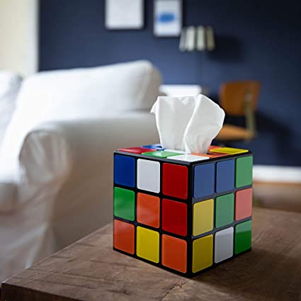 Magic Cube Tissue Box Cover