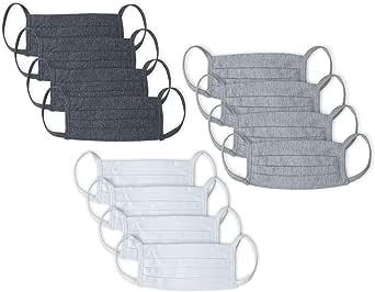 Kit 12 peças Máscaras de Proteção em Algodão, Mash