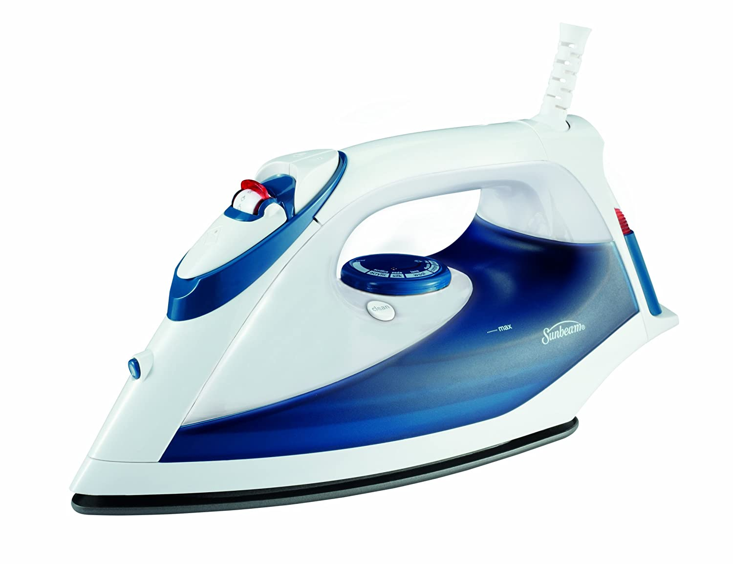 Sunbeam Classic Non-Stick Iron, Blue GCSBBV-202-033
