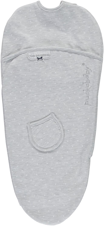 Blue Pucky Couverture demmaillotage pour b/éb/é Puckababy/® PIEP 0//3 mois
