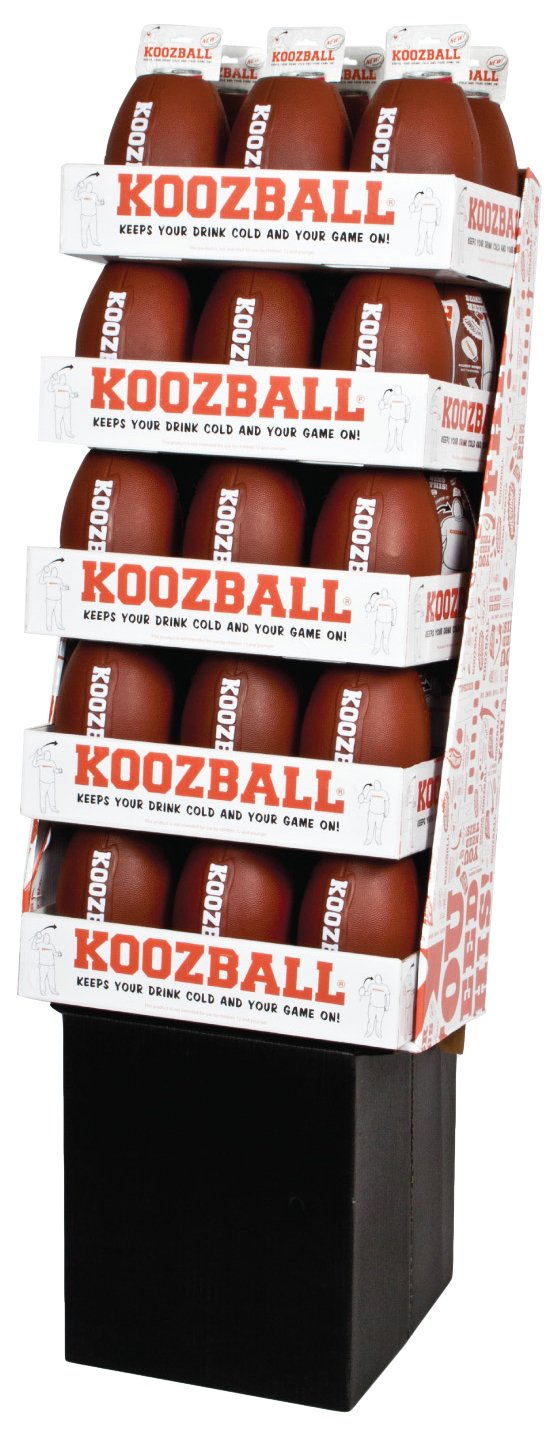 U.S. POLY ENTERPRISE Koozball Floor Display