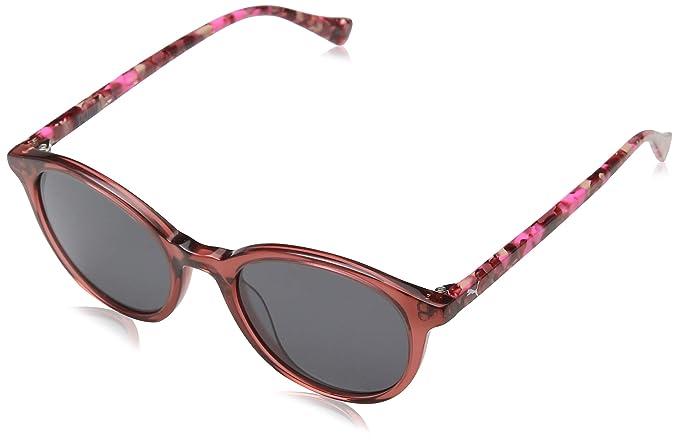 officiel de vente chaude vente professionnelle bon marché Puma Junior Lunettes De Soleil, Multicolore (Pink/Smoke ...