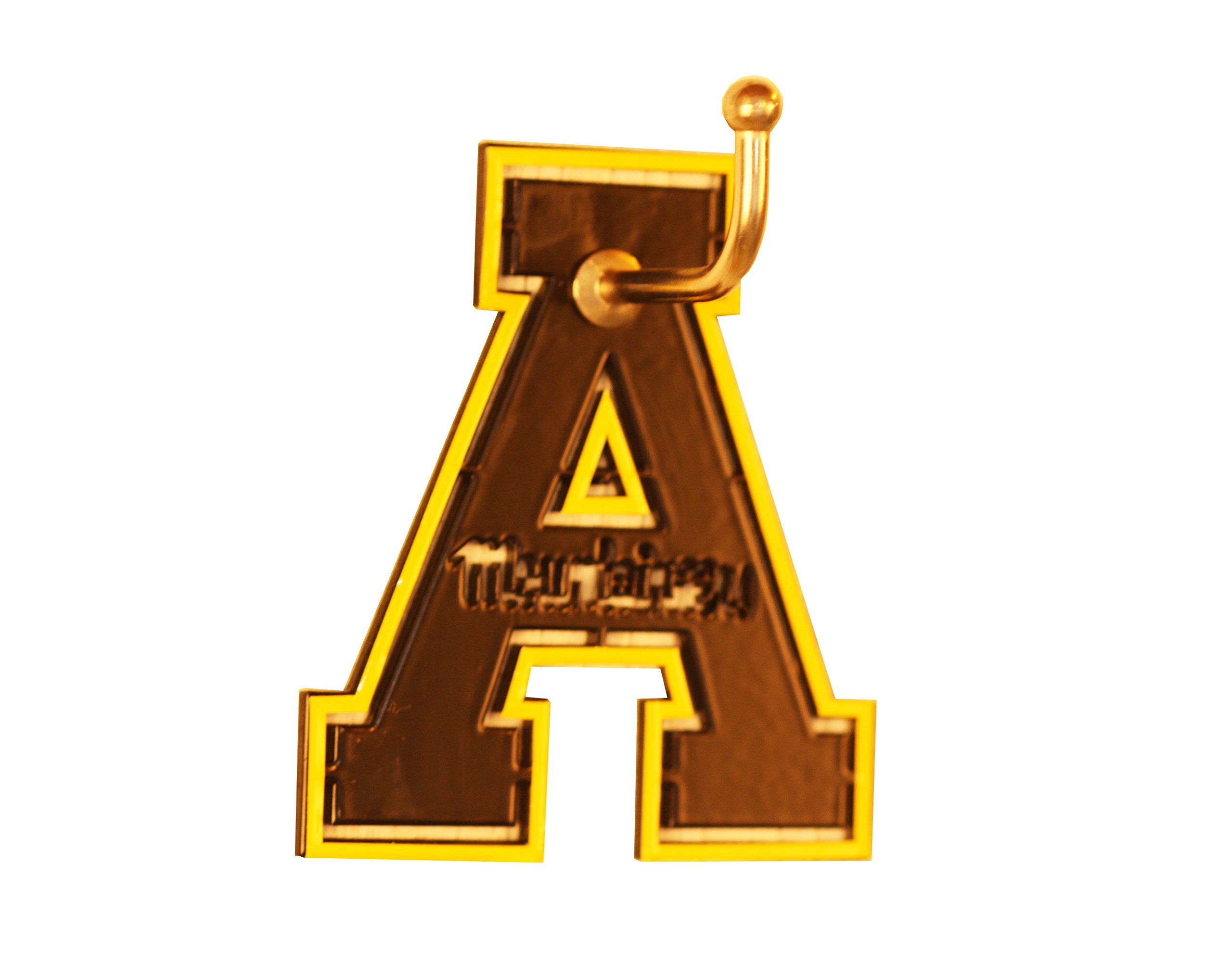 Henson Metal Works Appalachian State Medium Color Logo Wall Hook