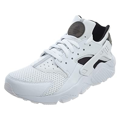 hot sales store factory outlets Nike Air Huarache Men's Running Shoes White/Black/Pure ...