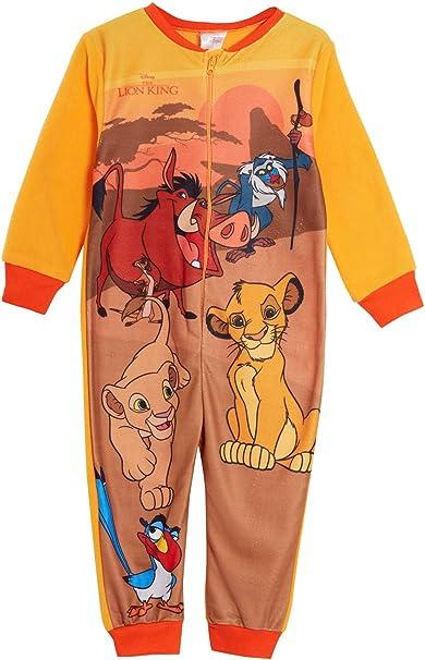 Kids Girls Lion King Pyjamas Sleepwear Ages 4 to 10 Years