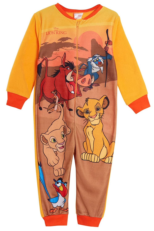 Pigiama Intero in Pile Disney Onesie Il Re Leone Simba Motivo