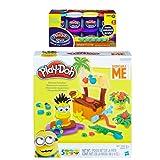 Play-Doh Minions Paradise Play Set + Play-Doh