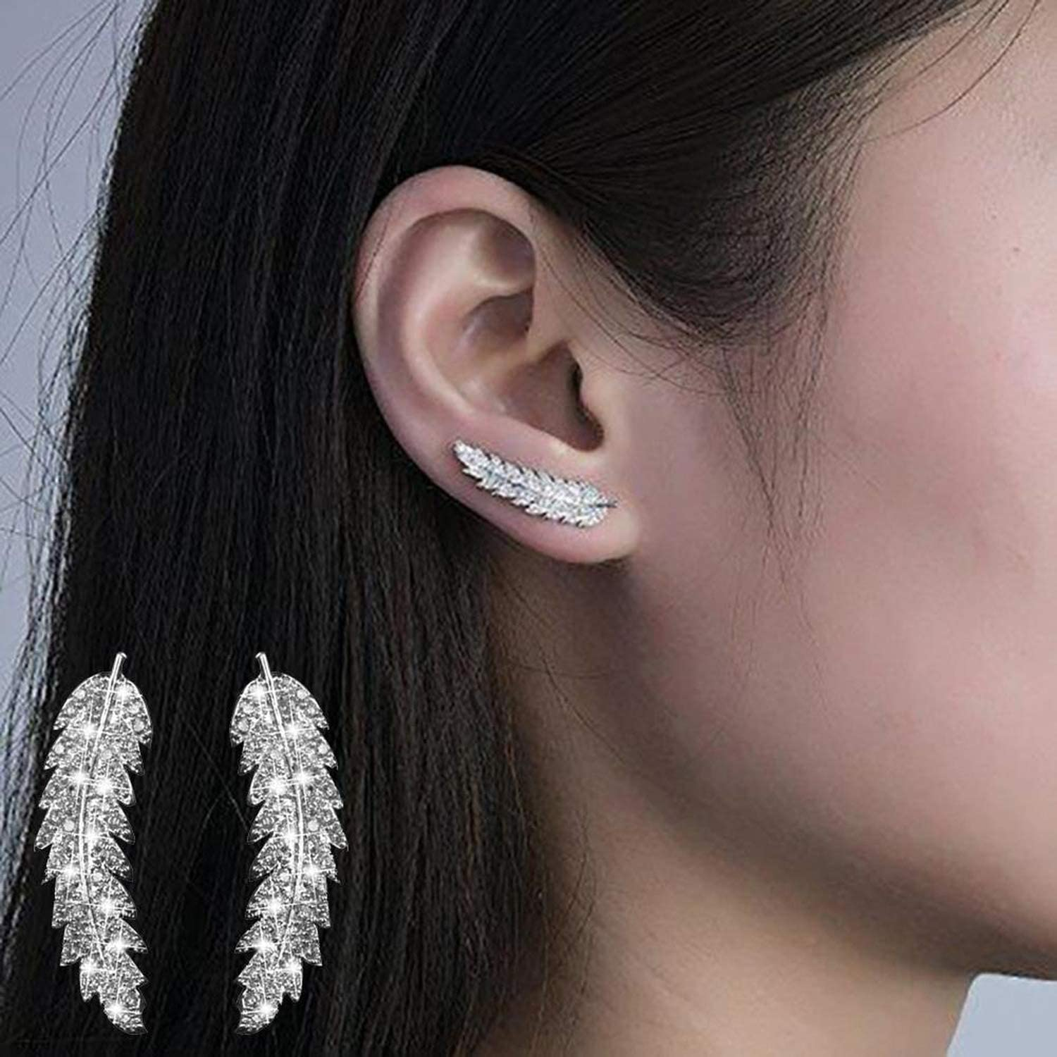 2020 Boho Leaf Earrings Ear...