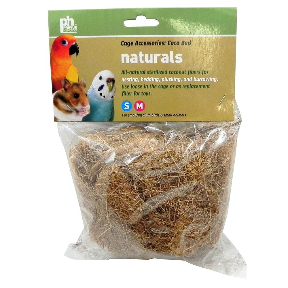 Cocobed Shredded Coconut Nest Material PREVUE PET PRODUCTS