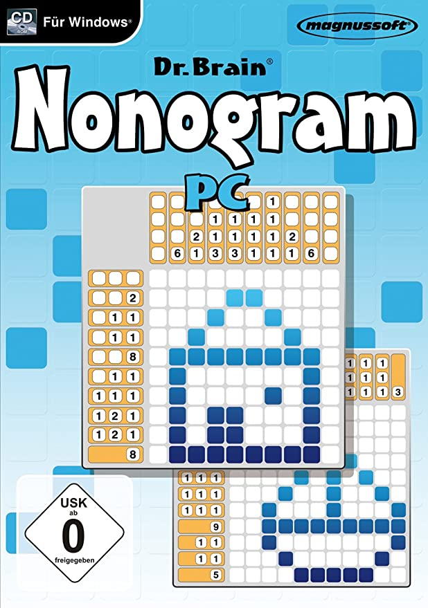 Magnussoft Dr. Brain Nonogram - Juego (DEU, 64 MB, Pentium 4, DirectX 9.0c): Amazon.es: Software
