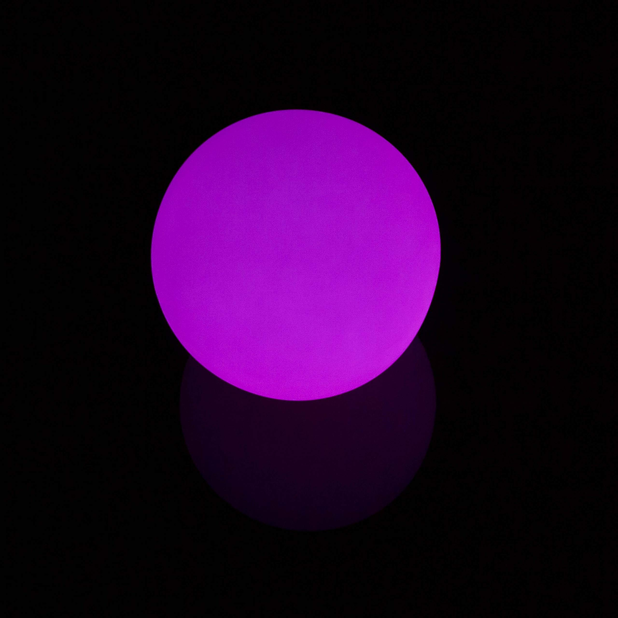 LED Light Up Contact Juggling Ball - Single 95mm Multi-Color Ball