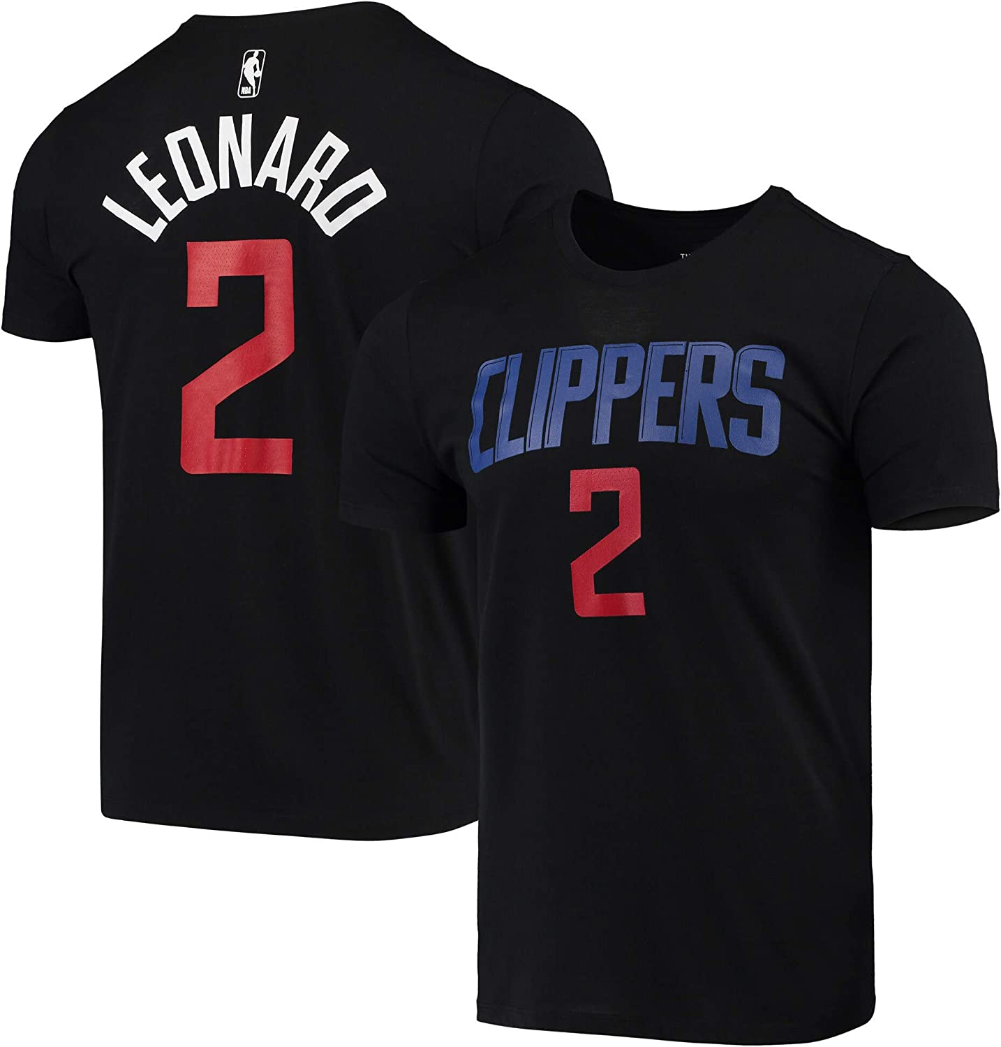 OuterStuff NBA Youth 8-20 Black Dri Fit Cotton Dark Icon Player Name /& Number T-Shirt