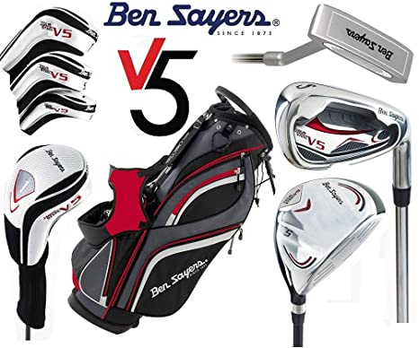 Ben Sayers V5 completo juego de Golf bolsa de soporte de ...
