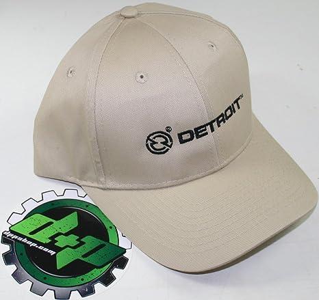 9bcfd6e6f260d Amazon.com  tan detroit diesel semi 18 wheeler trucker base ball cap hat  truck cat  Automotive