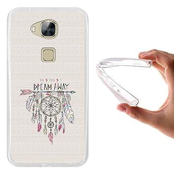 WoowCase Funda Huawei GX8 / G8, [Huawei GX8 / G8 ] Funda Silicona Gel Flexible Atrapasueños, Carcasa Case TPU Silicona - Transparente