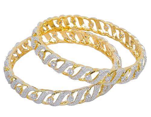 Jewelry & Watches Indian Bollywood Bangle Jewelry Trtaditional Gold Tone Bangles Fashion Bracelet