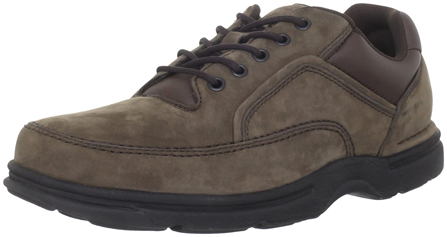 Rockport Eureka Plus Ankle Boot(Men's) -Dark Brown Leather Low Shipping Fee Sale Online Clearance New Arrival With Credit Card Online Sale Newest Discount Top Quality vaQdo0ES