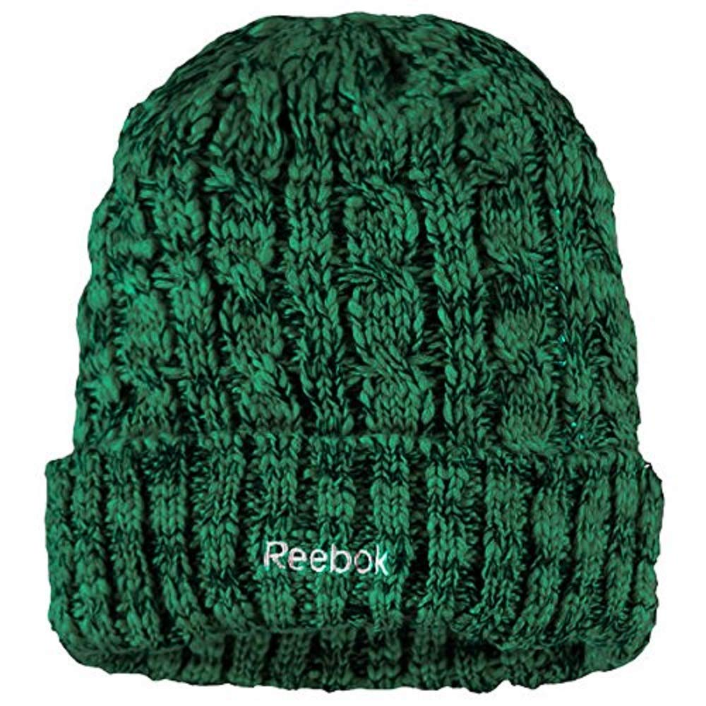 b9f2a828cca Reebok Dallas Stars Cuffed Knit Hat by Women s OSFM KR62W at Amazon Women s  Clothing store