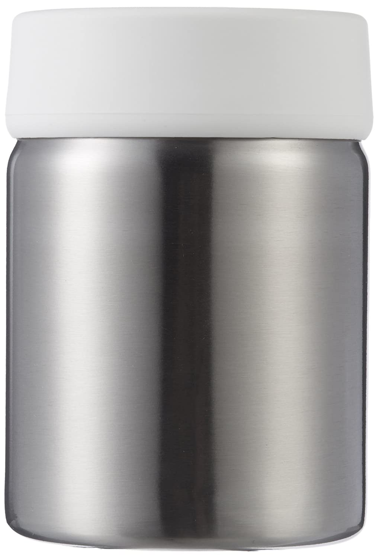 AmazonBasics - Portaspazzolino in acciaio INOX, Bianco 023821-660-A60