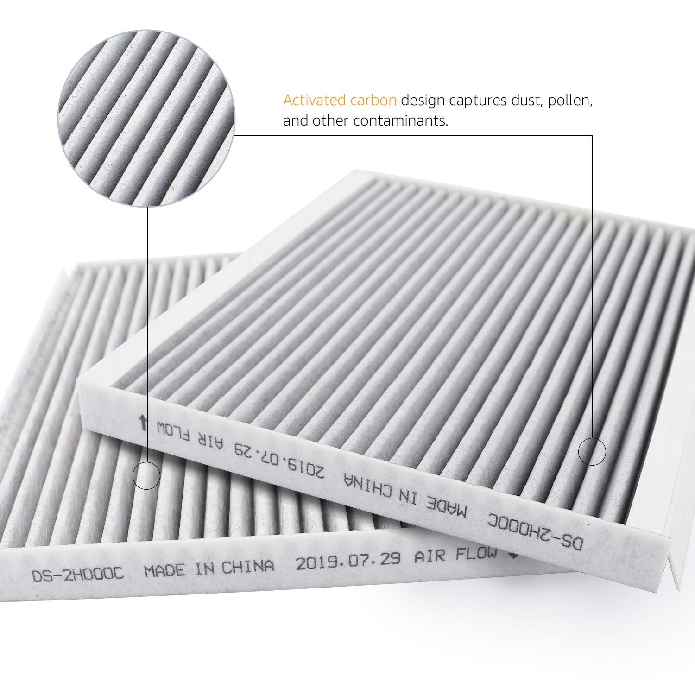 Filtro dell/'aria per abitacolo 23 x 22,4 x 2,9 cm Basics
