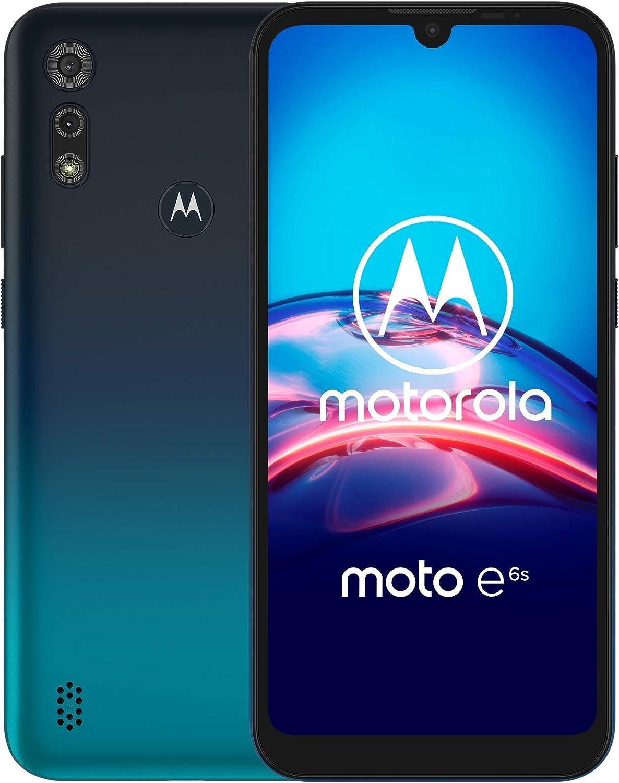 Moto E6s | Unlocked | International GSM only | 2/32GB | 13MP Camera | 2019 | Blue, Model Number: XT2053-2