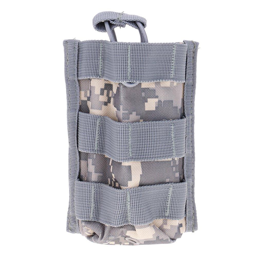 ?Sac Tactical unique Mag Magazine poche ouverte haut pour M4/M16 5,56.223 walkie-talkie interphone camouflage ACU