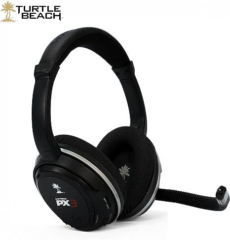 Turtle Beach Earforce PX3 - Auriculares de diadema inalámbricos para Xbox 360/PS3/PC: Amazon.es: Videojuegos