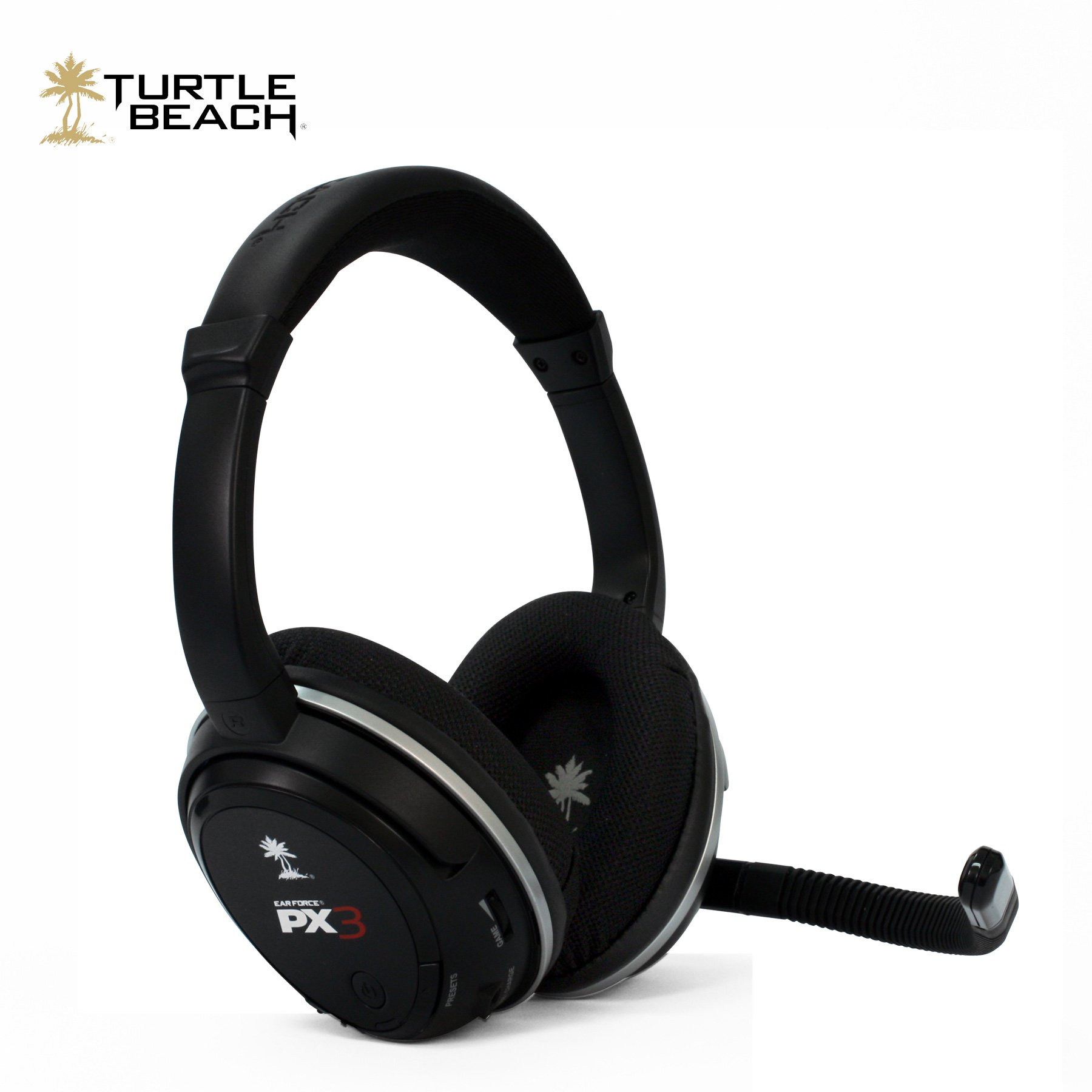 Turtle Beach - Ear Force PX3 - Programmable Wireless Gaming Headset - PS3, Xbox 360 by Turtle Beach