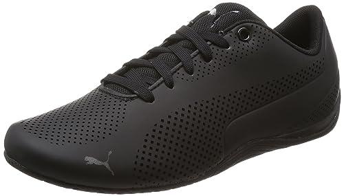 f4d6688b53f9 Puma Unisex Drift Cat Ultra Reflective BlackBlackBlack Sneakers - 10  UK India (44.5 EU