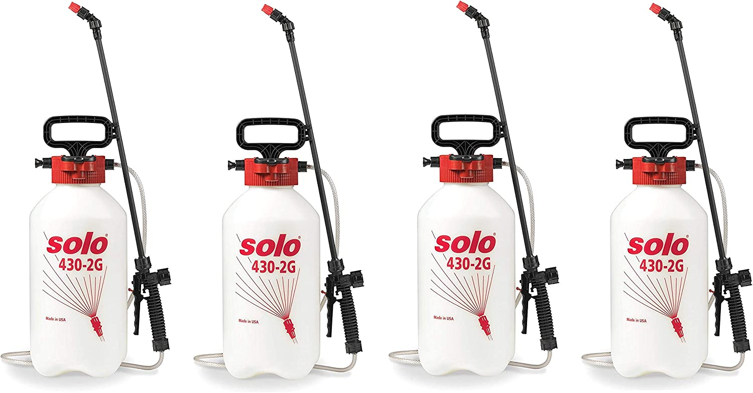 Solo 430-2G 2-Gallon Farm and Garden Sprayer with Nozzle Tips for Multiple Spraying Needs F ur Pa k