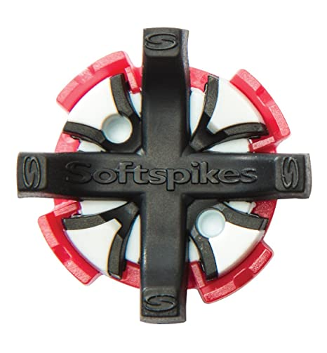 16a19a997bc5 Image Unavailable. Image not available for. Color: Softspikes Black Widow  Tour Fast Twist Golf Cleats ...