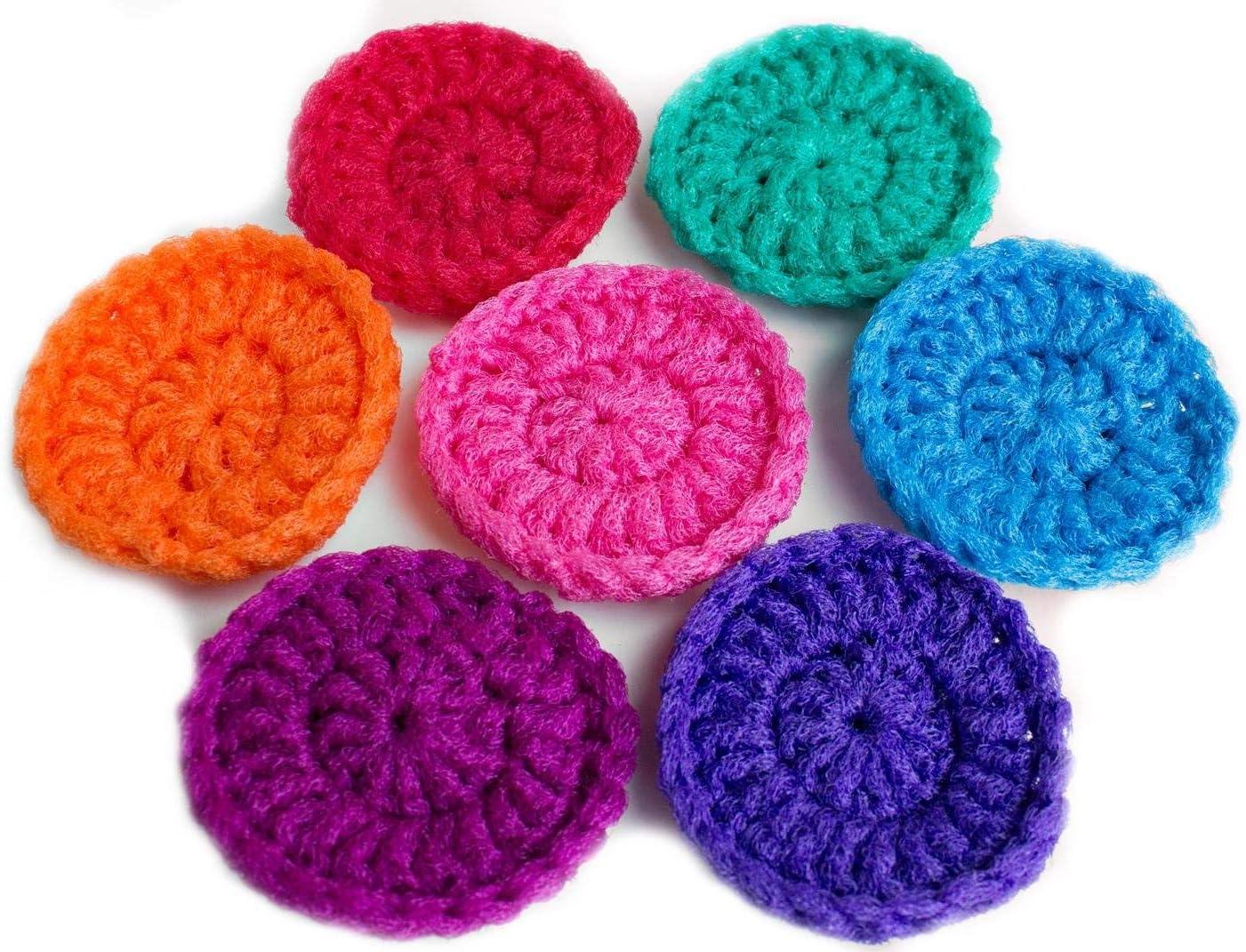 10  Net Scrubbies scrubbies made of nylon net NEW COLOR pot scrubbers