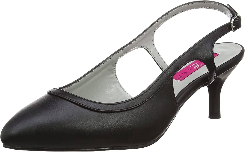 TALLA 46 EU. Pleaser Kitten-02 - Zapatos con correa de tobillo mujer