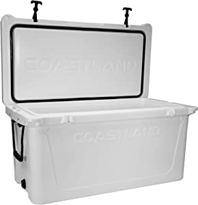 Coastland Delta Series Coolers | Premium Everyday Use Insulated Cooler | Ice Chest available in 25-Quart, 45-Quart, 65-Quart & 125-Quart Capacity