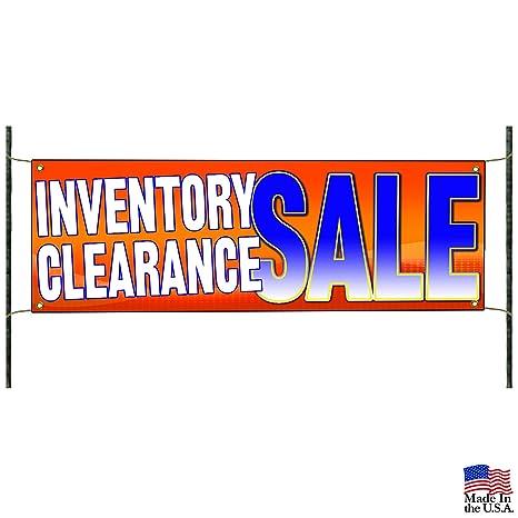 Amazon.com: Inventario liquidación publicidad pancarta de ...