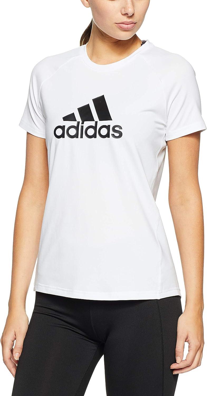 adidas D2m Logo T Shirt Femme: : Sports et Loisirs