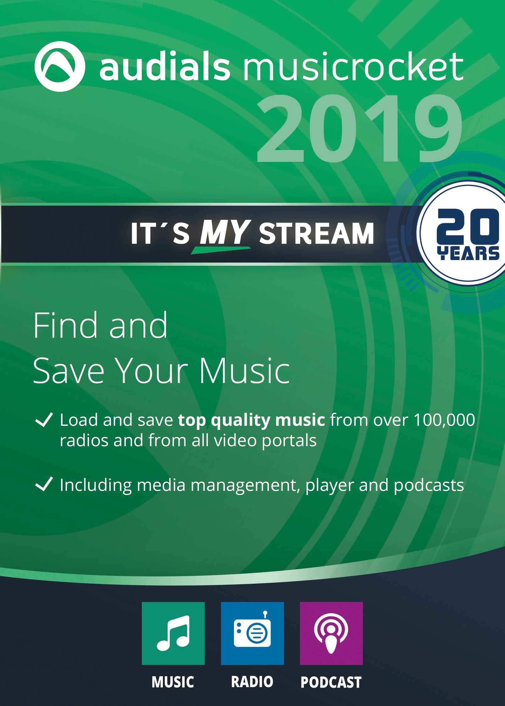 Audials Music Rocket 2019 [PC Download]