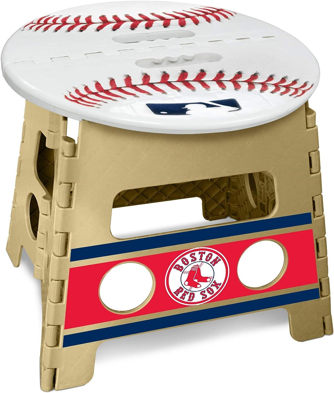 Fanmats MLB Boston Red Sox Folding Step Stool