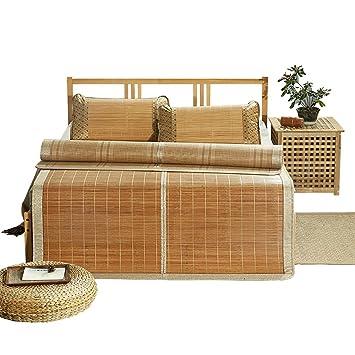 HAIPENG-ld Colchonetas de Verano de bambú Fresca Estera ...